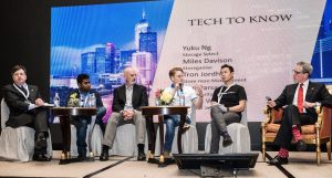 Tron on the Tech To Know Panel